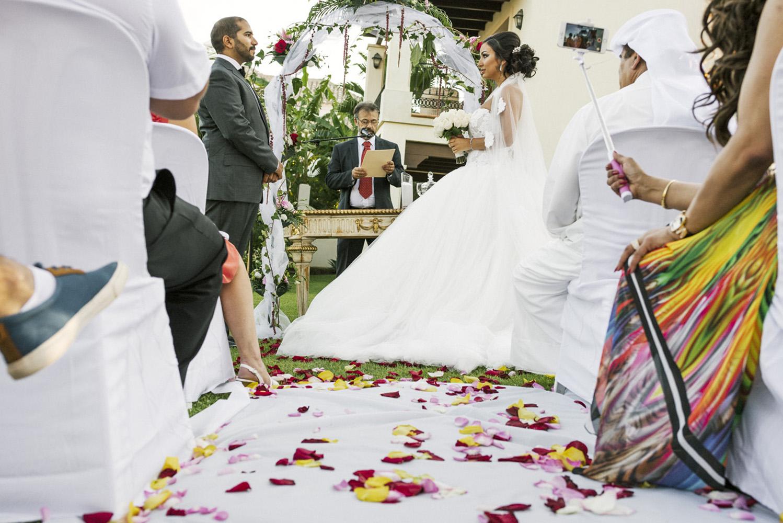 Boda de lujo realizada en Marbella por Kazados Photo