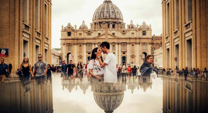 Otoño en Roma | Núria + Javi | Preboda