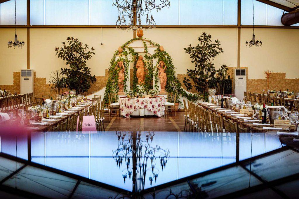 Salón bodas de L' Alqueria de Galim.